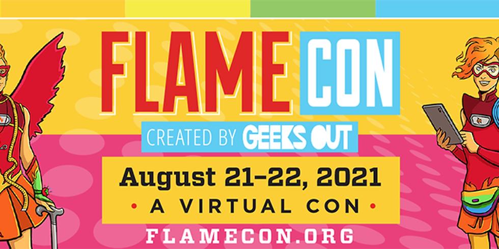Artist Alley Virtual @Flame Con 2021
