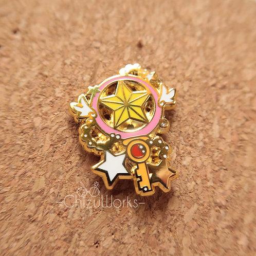 Card Captor Sakura: Star Wand Enamel Pin