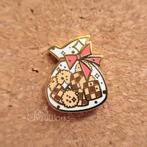 Gift Cookies Enamel Pin