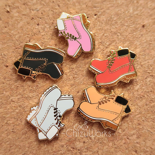 The Timbs Enamel Pin