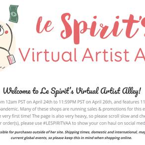 Virtual AA Online 2020 @LeSpiritDesigns.com