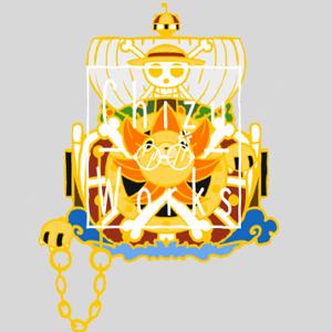 One Piece: Thousand Sunny Enamel Pin