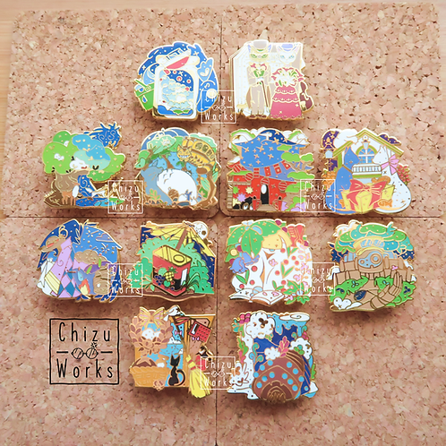 Studio Ghibli: Complete Pin Collection