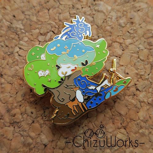 Studio Ghibli: Princess Mononoke Enamel Pin