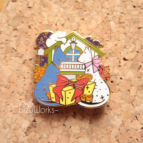 Studio Ghibli: The Cat Returns Enamel Pin