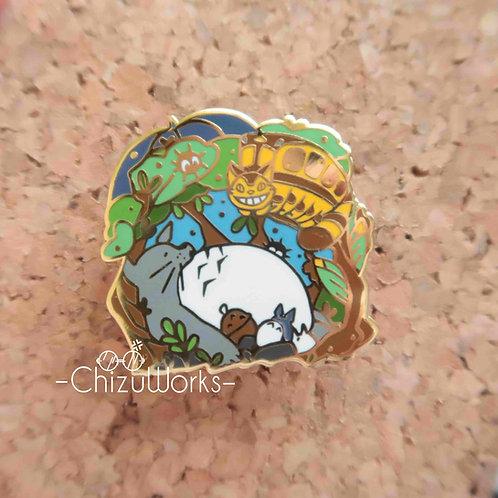Studio Ghibli: My Neighbor Totoro Enamel Pin