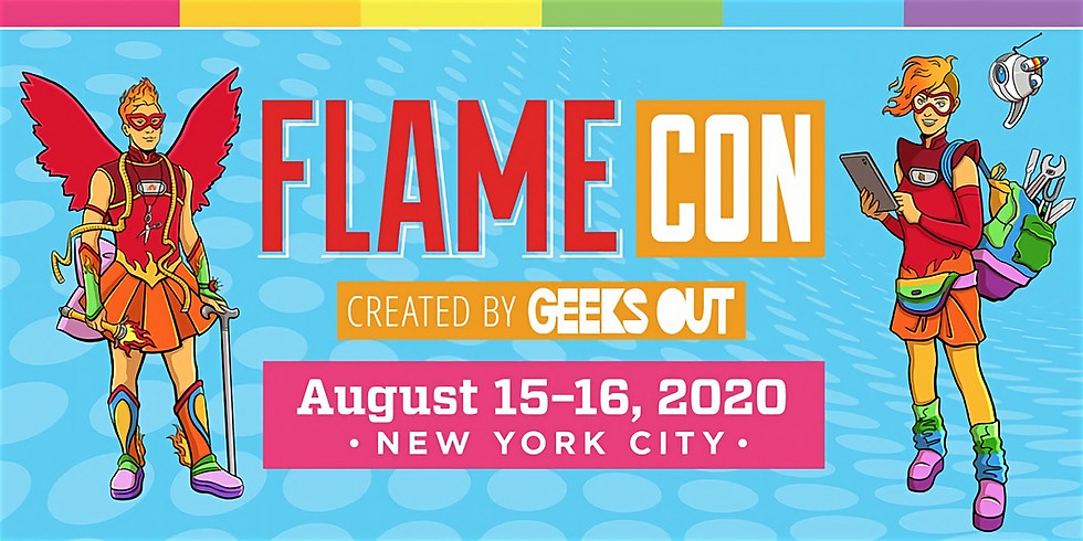 [CANCELLED] Artist Alley @Flame Con 2020