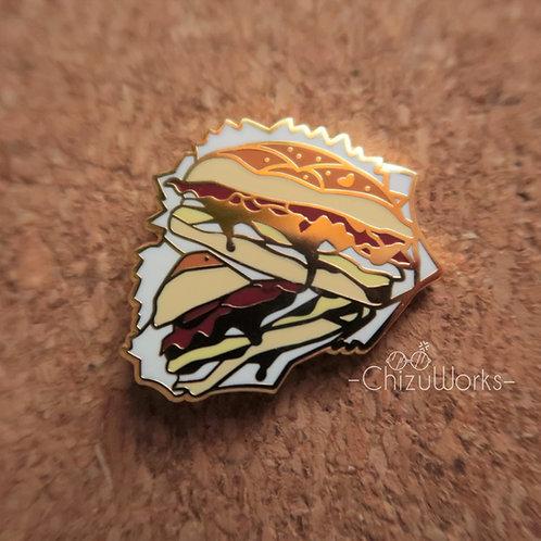 BaconEgg n Cheese Enamel Pin