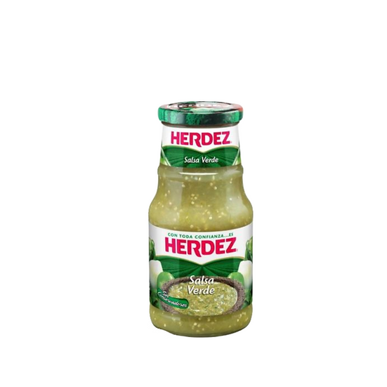 Acquista la salsa verde herdez 220 g per dare un sapore migliore al vostro cibo.