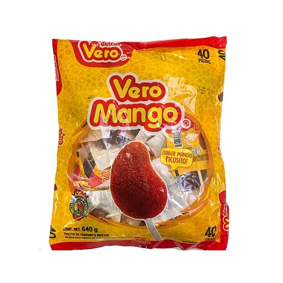 Acquista lecca lecca di mango piccante vero per godere di un gusto delizioso e di una consistenza dolce