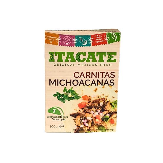 Acquista carnitas stile michoacan itacate e scoprire il gusto delizioso con tortilla e limone
