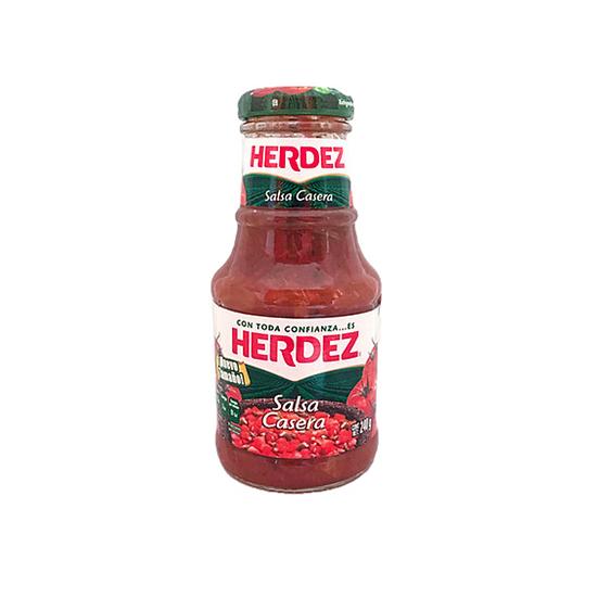 Acquista salsa per taco taquera herdez 240 g per dare un sapore speciale a tutti i vostri pasti, specialmente ai tacos