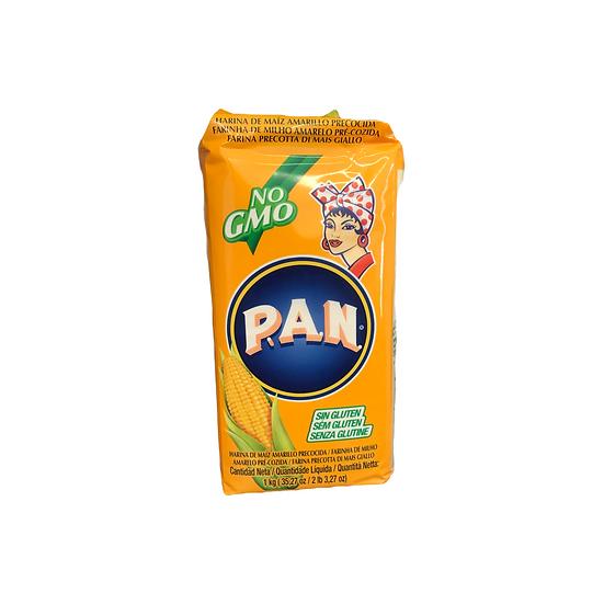 Acquista farina PAN di mais giallo precotta e preparare piatti messicani con mais giallo nixtamalizzato