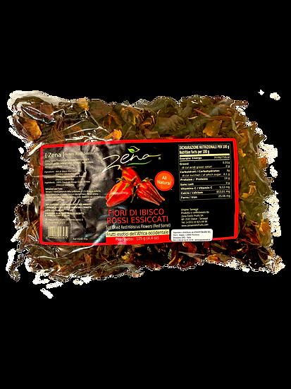 Acquista fiori di ibisco rossi essicatti zena e preparatevi dell'acqua all'ibisco o anche dei tacos all'ibisco