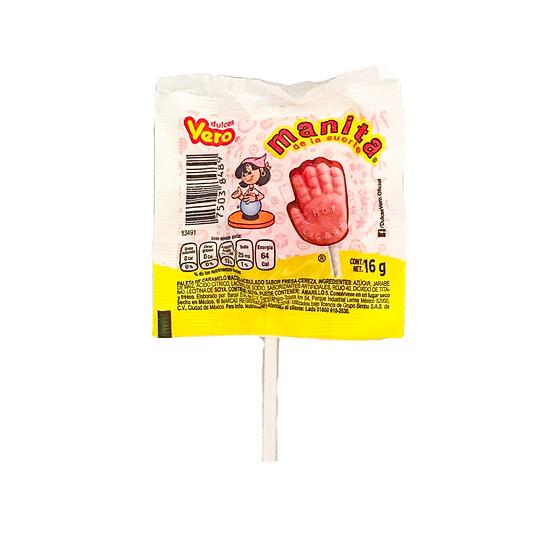 Acquista lecca lecca manita vero per sentire due diversi sapori dolci allo stesso tempo