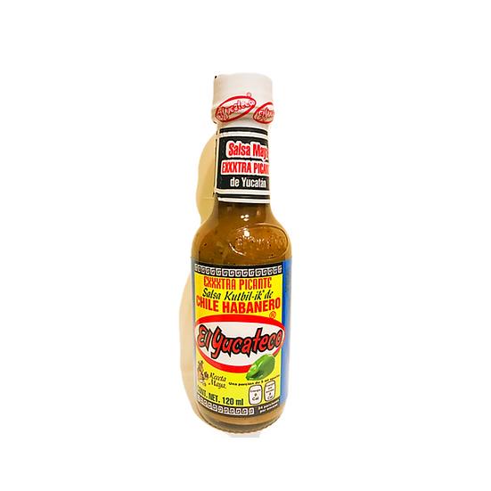 Acquista salsa el yucateco exxxtra picante per dare un sapore esplosivo e piccante ai vostri pasti