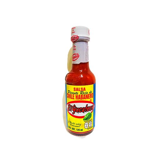 Acquista salsa di habanero rossa el yucateco per aggiungere un'intensa piccantezza ai vostri pasti