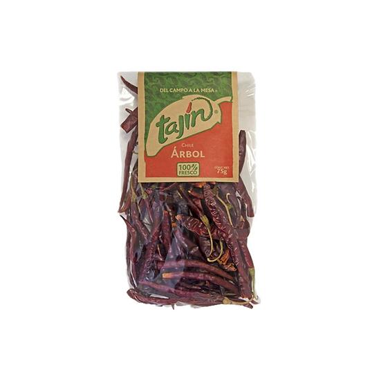 """Acquista peperoncino di arbol tajin per dare un sapore piccante ai vostri stufati e per preparare salse """"macha"""""""
