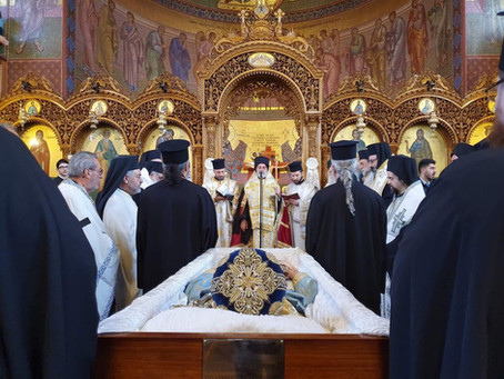 Funeral of the late Archbishop Gregorios