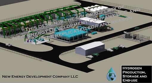 green hydrogen prop design new energy de