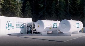New Energy Dev green hydrgen storage Scott Shields
