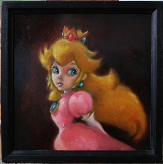 """""""Princess Peach."""""""
