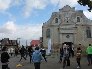 Historic arts festival at Orla synagogue, Poland
