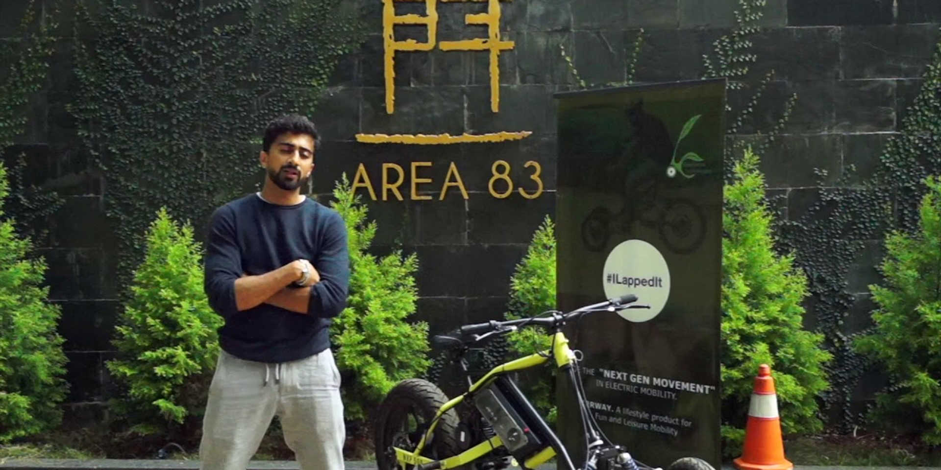 Mr. Tariq Sheriff, Director - Area83 resorts