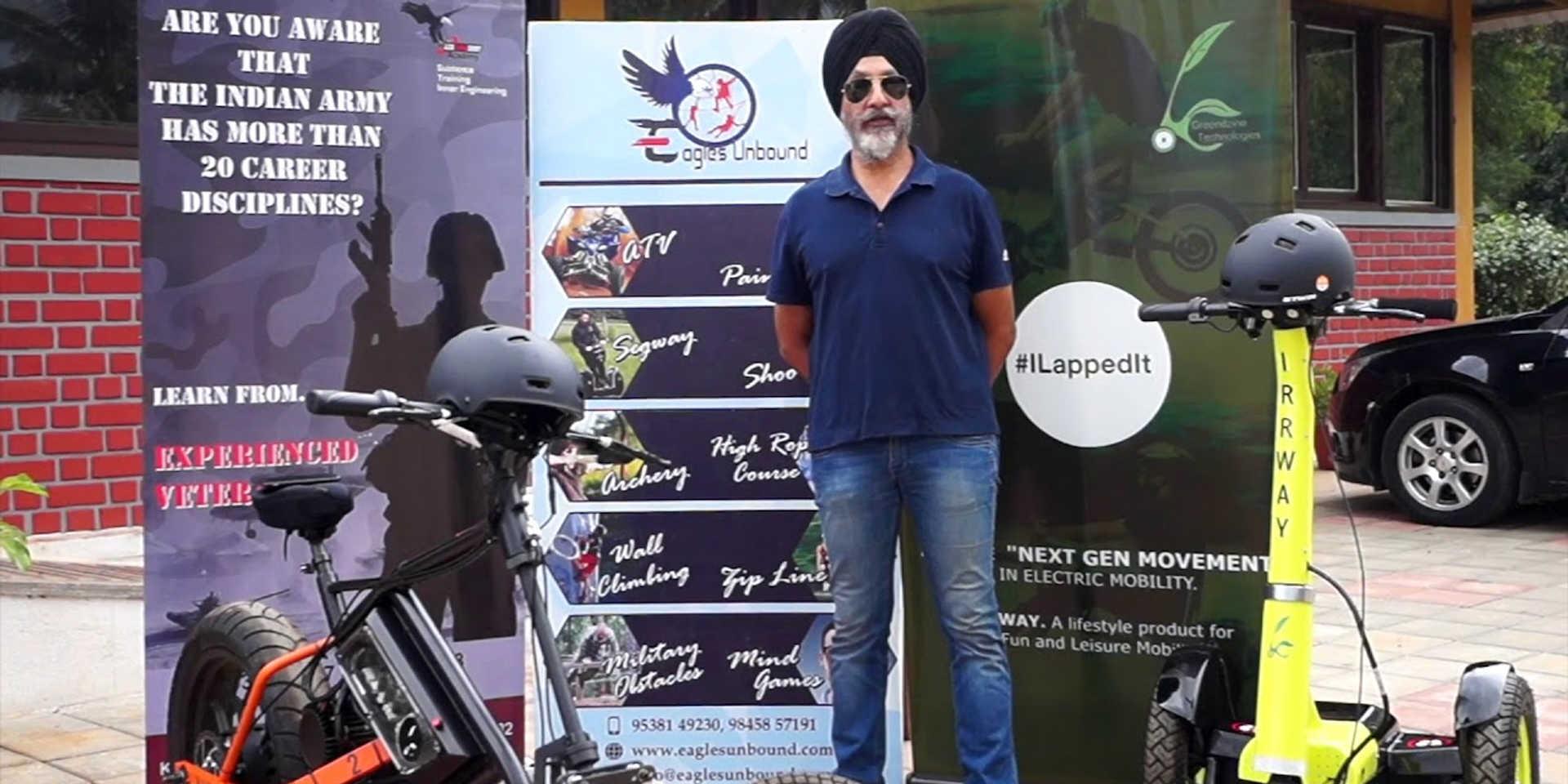 BRIG. Amardeep Singh, President, Eagles Unbound Resort