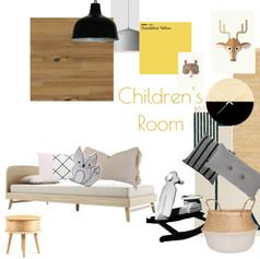 לוח השראה חדר ילדים