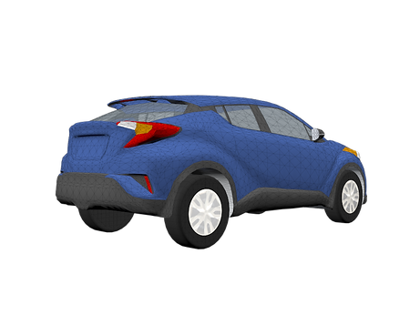 0357 - 2019 Toyota C-HR -  REAR.png