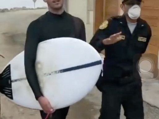 Are Surfers Being Irresponsible During COVID-19?