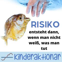 Wissen ist die Gegenmaßnahme zum Risiko