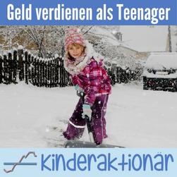 Geld verdienen als Teenager im Winter