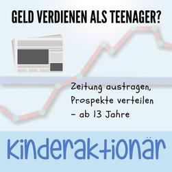 Geld verdienen als Teenager mit 13