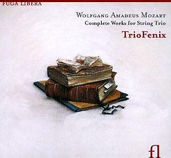 triofenix, cd, mozart, string trio, trio, mozart, fuga libera