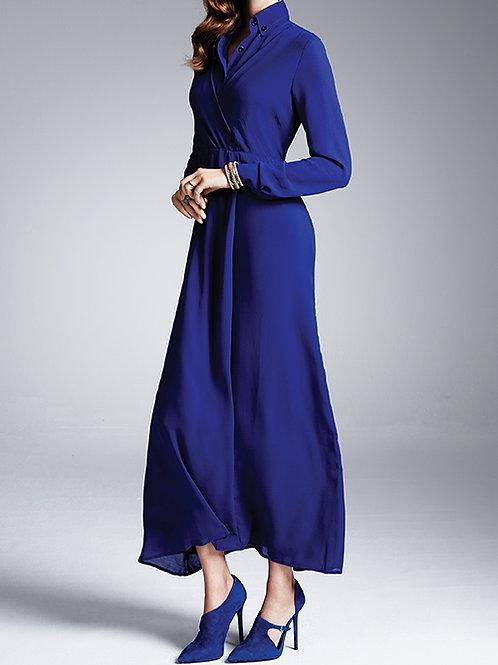 maxi dress (night blue)