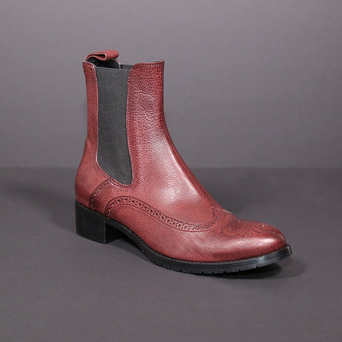 chelsea boots burgundy (leather)