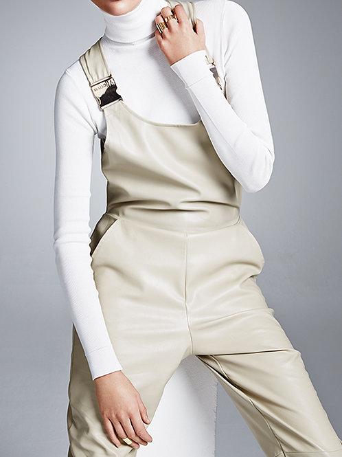 overall (dungaree) beige
