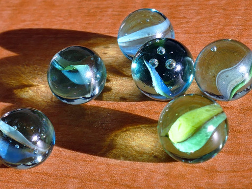 Thoughts-Words-Actions:  Our Own Jar of Marbles