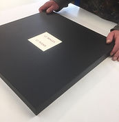 Solander box containing 12 Print Portfolio and Poems by Nigel Hall RA and Andrew Lambirth