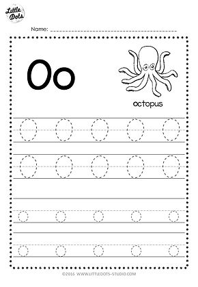 free letter oo tracing worksheets little dots education preschool printables and activities. Black Bedroom Furniture Sets. Home Design Ideas
