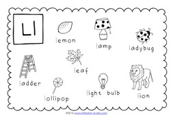 Letter L Preschool Worksheets Free Worksheets Library