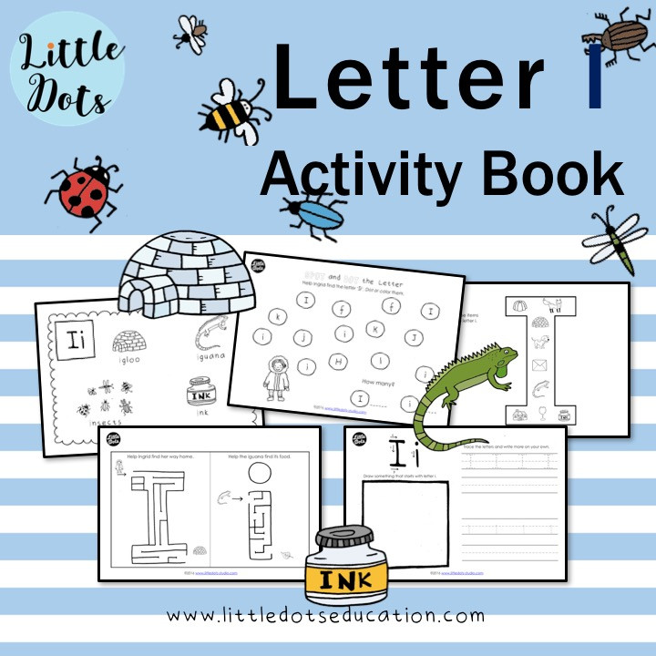 Letter I worksheets and activities