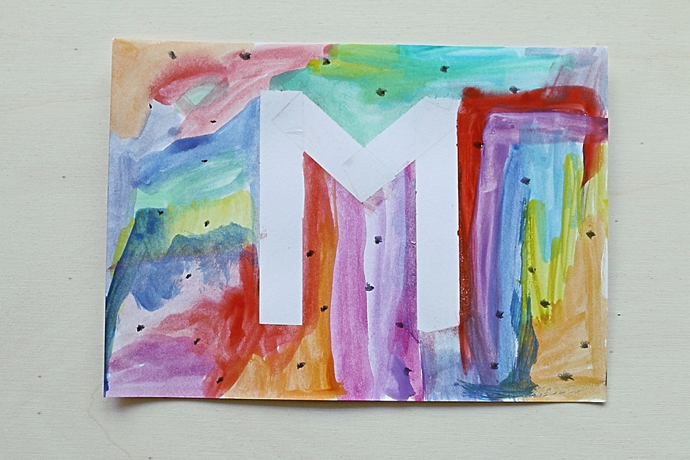 Name Watercolor Art