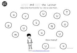 Preschool letter u activities and worksheets little dots help altavistaventures Gallery