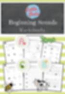 Beginning sounds worksheets and activities for preschool or kindergarten class