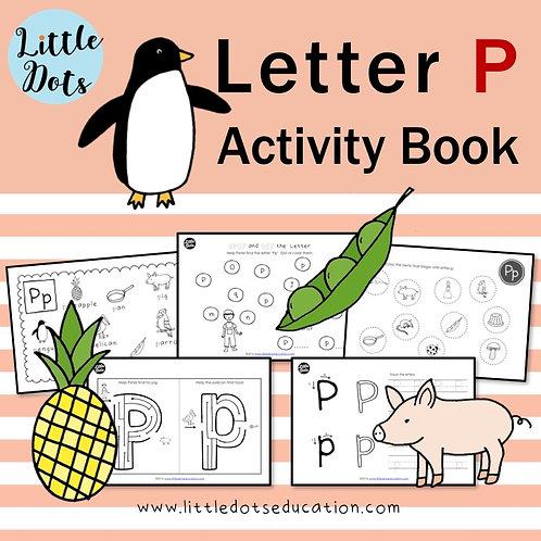 Letter P Activity Book