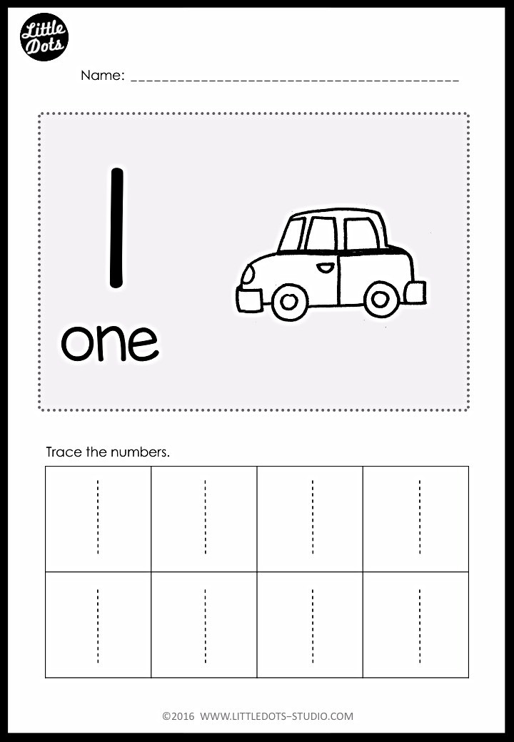 Pre-K Numbers 1 To 10 Worksheets And Activities