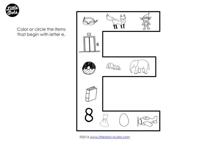 Letter D Sound Worksheet